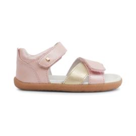 Bobux Step-up sandaaltje roos/goud