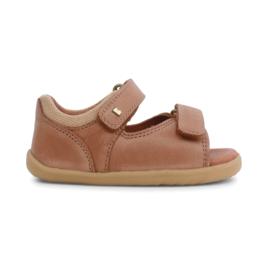 Step-up sandaaltje bruin