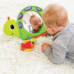 Infantino Activiteitenspeeltje Go Gaga Turtle Activity Mirror