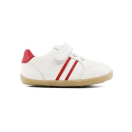 Step-up jongen/meisje wit/rood