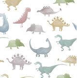 Dekbedovertrek Dino Multi