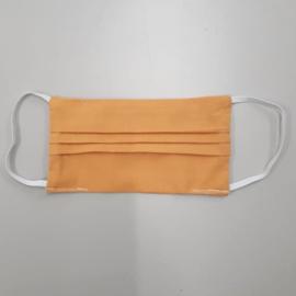PRE-ORDER Wasbaar katoenen mondkapje (okergeel)