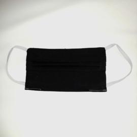 PRE-ORDER Wasbaar katoenen mondkapje (Zwart)