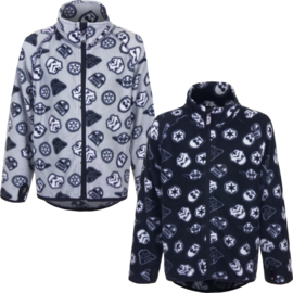 Star Wars fleece jacket Black & White