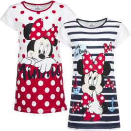 Disney Minnie Nachthemd voor meisjes van 3 t/m 8 jaar Donkerblauw/ rood