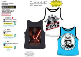 Star Wars t-shirt mouwloos