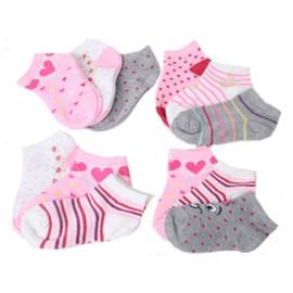 3-pak RUINUR  kindersokken multicolor - Mix - Sneaker Meisjessokken - antibacteriële sokken