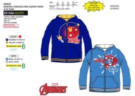 Avengers hoodie met rits