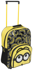 Minions trolley / kinderkoffer 38 x 28 x 11 cm softcase  -  Despicable Me