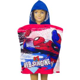 Spiderman Poncho met capuchon