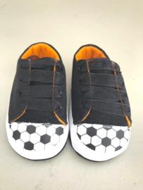 Zwarte Sneaker  - (0-15 maanden) - Baby schoentjes jongen