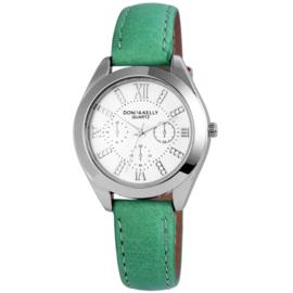 DONNA KELLY Dames Horloge - Groen  Ar:191026100004