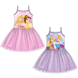 Disney Princess jurkje voor meisjes van 3 t/m 6 jaar Paars / Roze