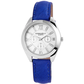 DONNA KELLY Dames Horloge - Blauw Ar:191023000004