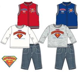 Superman 3 delige baby set