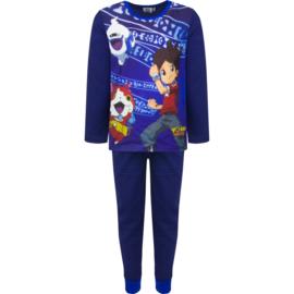 YOKAI WATCH pyjama - pyamaset - 3 t/m 12 Jaar -  blauw / rood