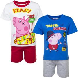 Peppa Pig shortama 2 delige set