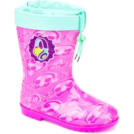 Soy Luna regenlaars - kinderlaars -Roze- maat 24 t/m 34