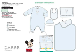 Mickey 4 delige baby set Newborn