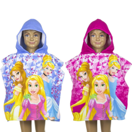 Disney Princess poncho -Prinsessen badponcho - 50 x 100 cm - Sneldrogend