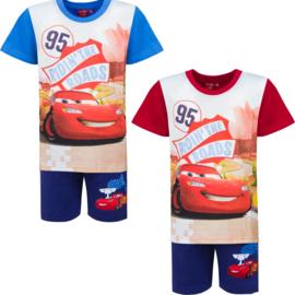 Disney Cars - Shortama - 3 t/m 8 Jaar - Blauw / Rood