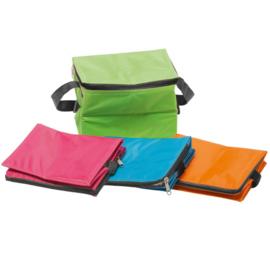 Koeltas 4,5 liter koelbox geïsoleerd  ( Groen, Oranje, Hard Roze, Blauw)