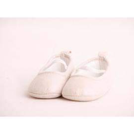 Witte Baby Ballerina's  (0-15 maanden) - Baby schoentjes meisje