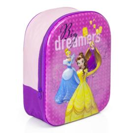 Princess 3D rugzak meisjes - Rugtas Disney Prinses - boekentas - schooltas - 33x 25x 10cm