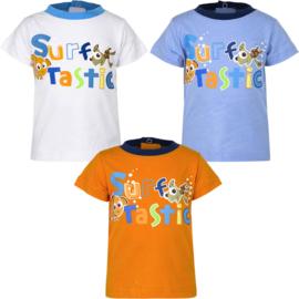 Finding Dory baby t-shirt  6 t/m 23 maand - Lichtblauw, Oranje, Wit