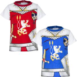 Mickey baby t-shirt  6 t/m 23 maand - Blauw, Rood
