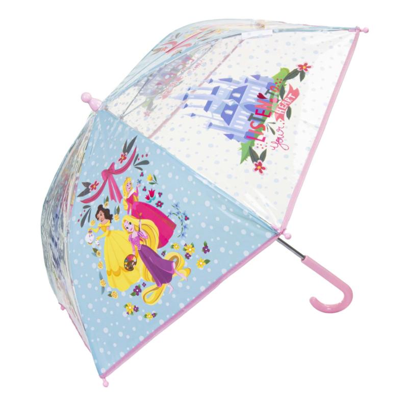 Princess paraplu transparant