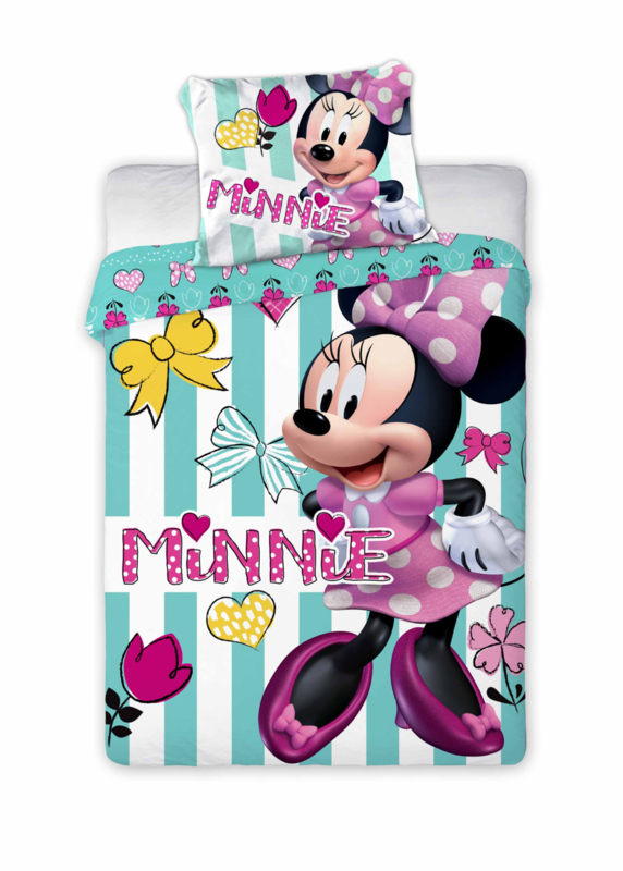 Disney dekbedovertrek Minnie Mouse 100 x 135 cm