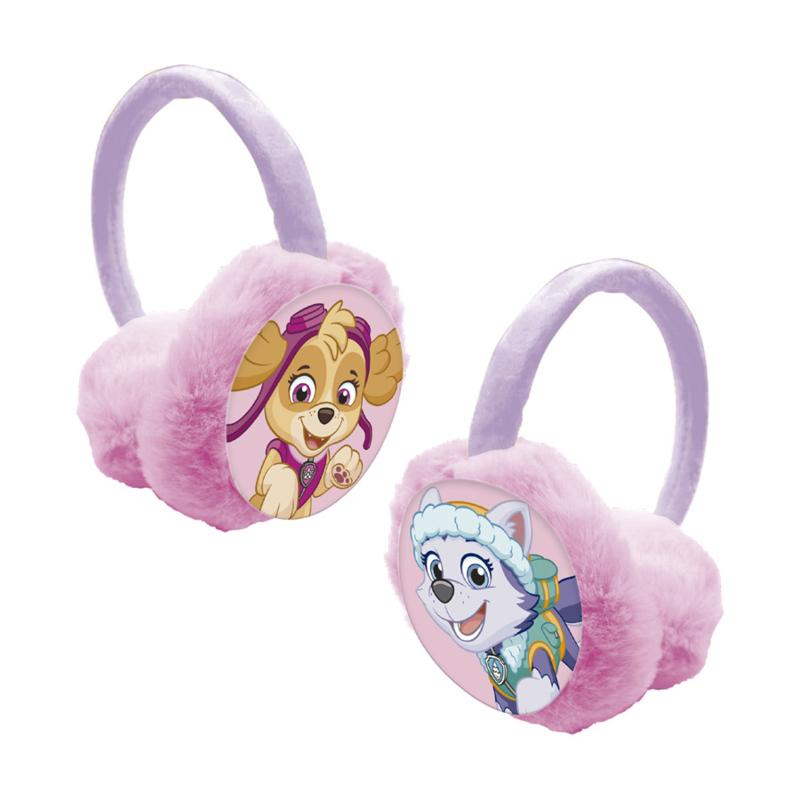 Roze Paw Patrol oorwarmers voor meisjes