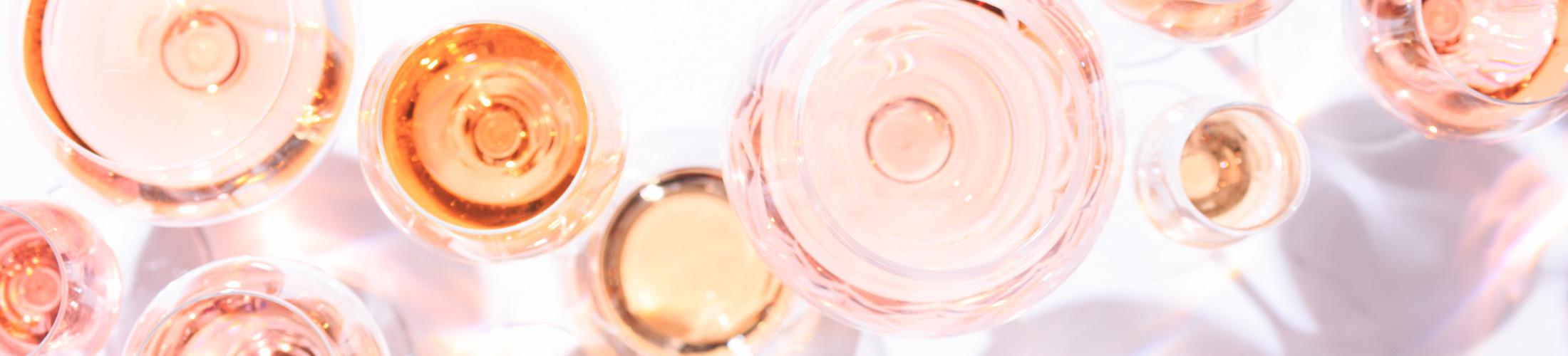 rose glazen top