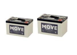 2de-hands Gel Accu vervangset 12v 68ah Move (voor scootmobiel en rolstoelen)