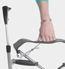 Let's fly rollator trust care inclusief tas