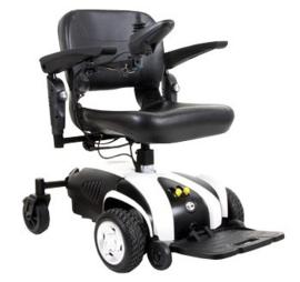 Travelux venture elektrisch rolstoel met hoog laag functie demomodel