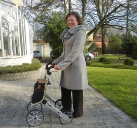 Let's Go Out rollator trust care inclusief tas