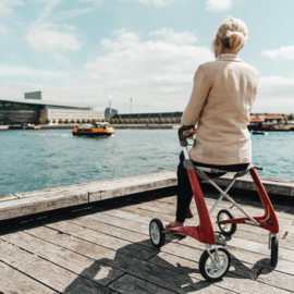 Carbon Ultralight Rollator trust care Inclusief afneembare tas
