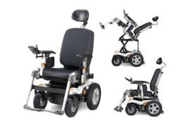 Elektrische rolstoel Puma 40 slechts 750 km (tweedehands enkel op aanvraag)