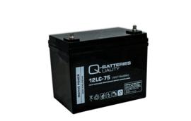 Q-Batteries 12V 77Ah loodaccu