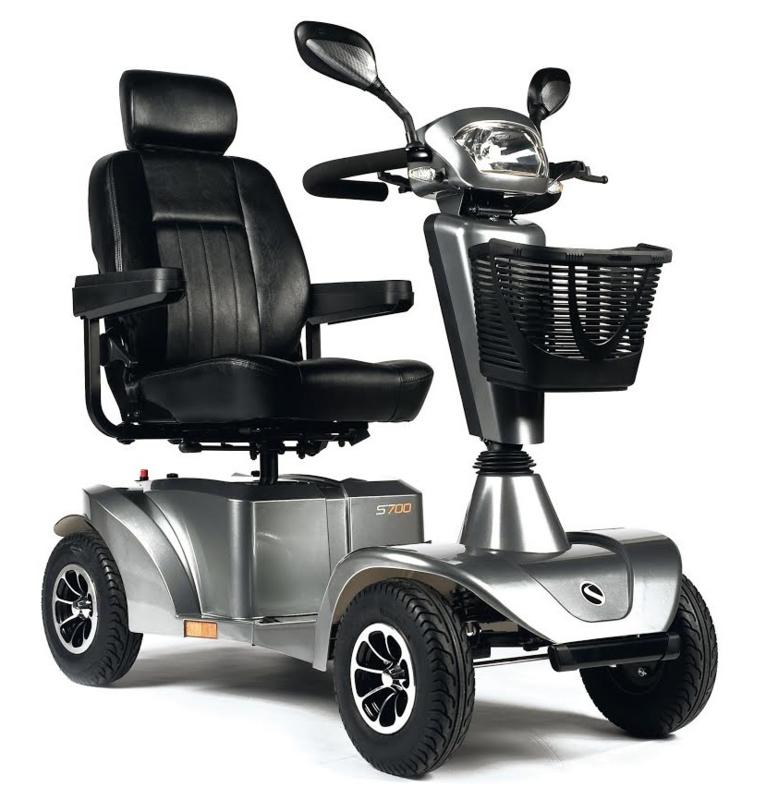Sunrise medical s700 4 -wiel scootmobiel 15km/h (ook met tussenkomst ziekenfonds)