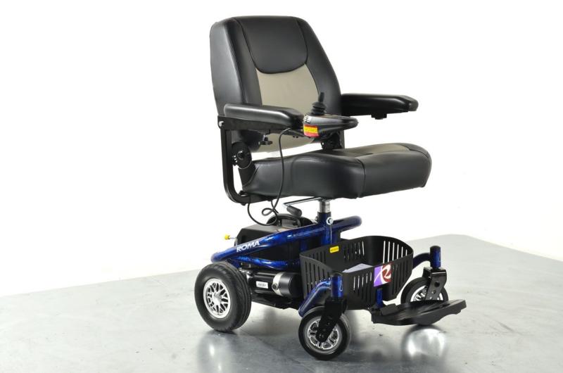 Reno II Roma compacte elektrische rolstoel. (nieuw in de verpakking, meeneemprijs)