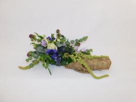 Kurk blauw-wit | 70cm