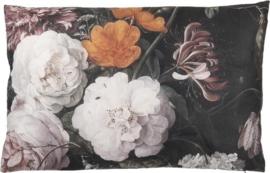 kussen gevuld bloem 60x40