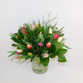 Secretaressedag Tulpenboeket Annie bont