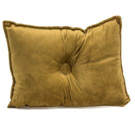 Kussen velvet Gold - kh1809