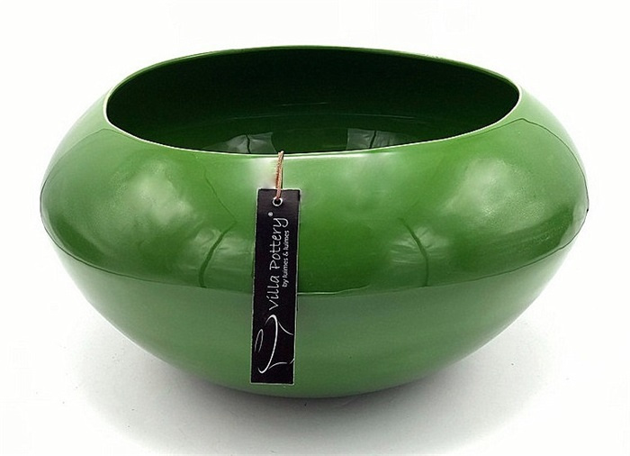 KOPENHAGEN 2 GREEN BOWL 39X24CM