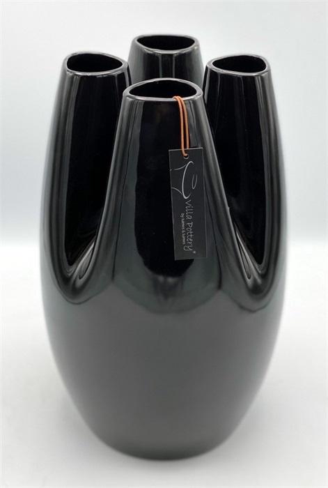 VALANCE 4 SHINY BLACK 22CM X 35CM