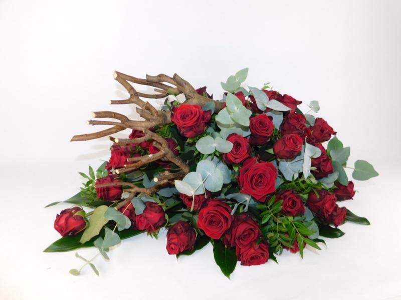 Rode rozen | 70cm